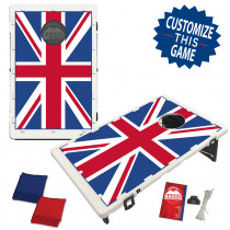 United Kingdom Union Jack Flag Bean Bag Toss Game by BAGGO