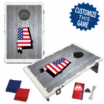 Alternate US States American Flag Bag Toss Game by BAGGO