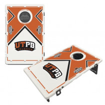 UTPB Permian Basin Falcons Bean Bag Toss Game by BAGGO