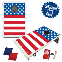 Horizontal American Flag Bag Toss Game by BAGGO