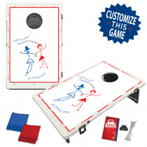 Wedding Day Bean Bag Toss Game by BAGGO