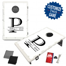 Wedding Single Letter Custom Bag Toss Game by BAGGO