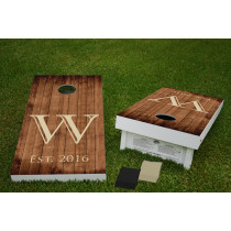 Wooden Plank Baggo Game