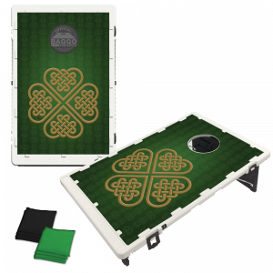 Celtic Clover Bean Bag Toss Game by BAGGO