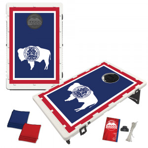 Wyoming State Flag Bean Bag Toss Game by BAGGO