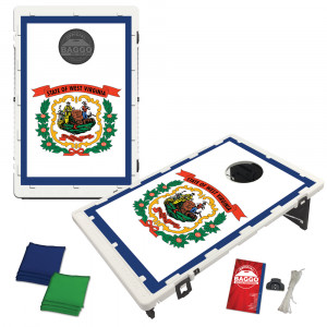 West Virginia State Flag Bean Bag Toss Game by BAGGO
