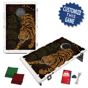 Tiger Bean Bag Toss Game by BAGGO