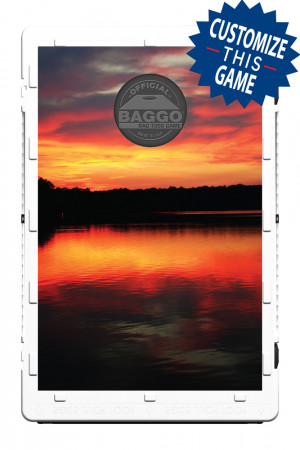 Sunset on the Lake Screens (only) by Baggo