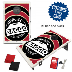 BAGGO Classic Alternate Baseball Versions Bean Bag Toss Game by BAGGO