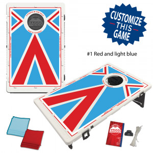 BAGGO Vintage Alternate Football Versions Bean Bag Toss Game by BAGGO