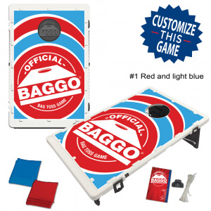BAGGO Classic Alternate Football Versions Bean Bag Toss Game by BAGGO