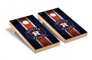 Houston Astros MLB Regulation 2x4 Cornhole Game