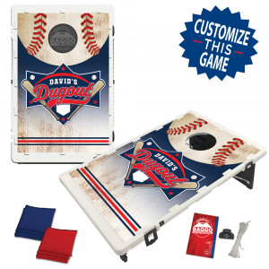 Baseball Dugout Bean Bag Toss Game by BAGGO