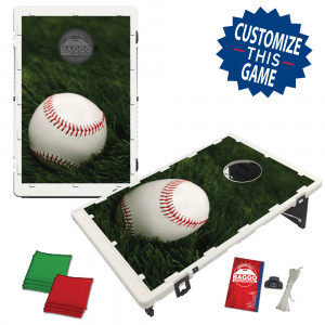 Baseball in the Grass Bean Bag Toss Game by BAGGO