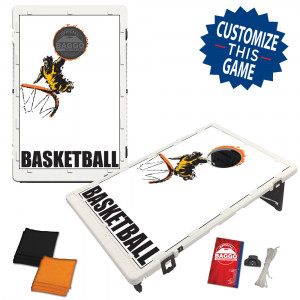 Basketball Player #1 Bean Bag Toss Game by BAGGO