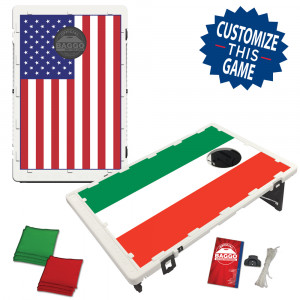 House Divided Country National Flag Bean Bag Toss Game by BAGGO