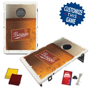 Baggo Lager Beer Bean Bag Toss Game by BAGGO
