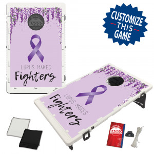 Lupus Awareness Bean Bag Toss Game by BAGGO