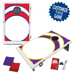 Build Your Own Split Team Vortex Baggo Bean Bag Toss Portable Cornhole Game