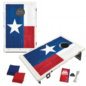 Texas Flag Wood Alt Bag Toss Game by BAGGO