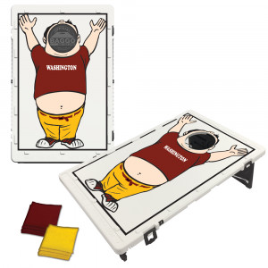 Washington Maroon Baggo Fan Bag Toss Game by BAGGO