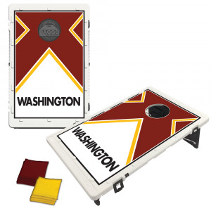 Washington Maroon Vintage Bag Toss Game by BAGGO
