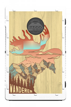 Whimsical Moose Screens (only) by Baggo