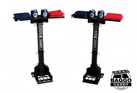 BAGGO Caddy Drink & Bag Holder Score Tower Combo, 2pk