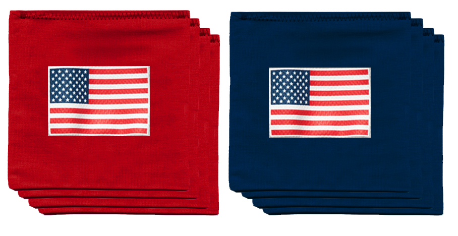 American Flag Usa 9 5 Oz Bean Bag Toss Bags By Baggo