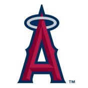 Los Angeles Angels MLB Baggo Game