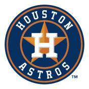 Houston Astros MLB Baggo Game