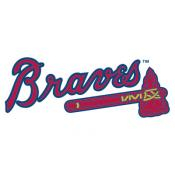 Atlanta Braves MLB Baggo Game