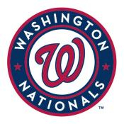 Washington Nationals MLB Baggo Game