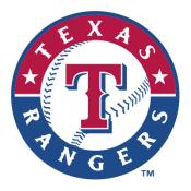 Texas Rangers MLB Baggo Game